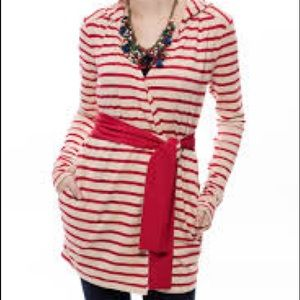 NEW Evy's Tree Hoodie in Red Stripe Addyson NWT